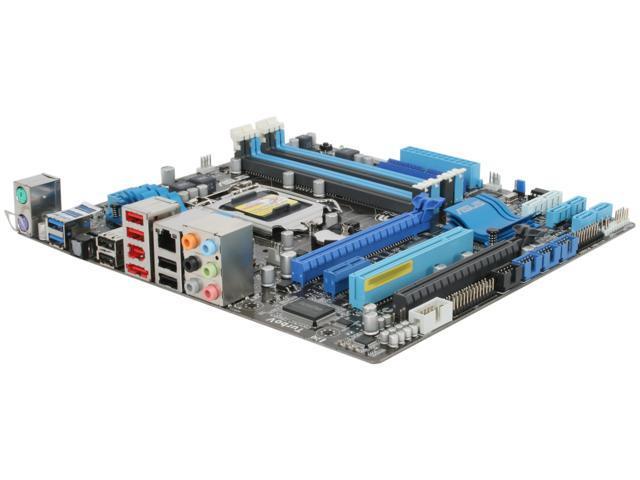 ASUS P8P67-M (REV 3.0) LGA 1155 Intel P67 SATA 6Gb/s USB 3.0 Micro ATX Intel Motherboard
