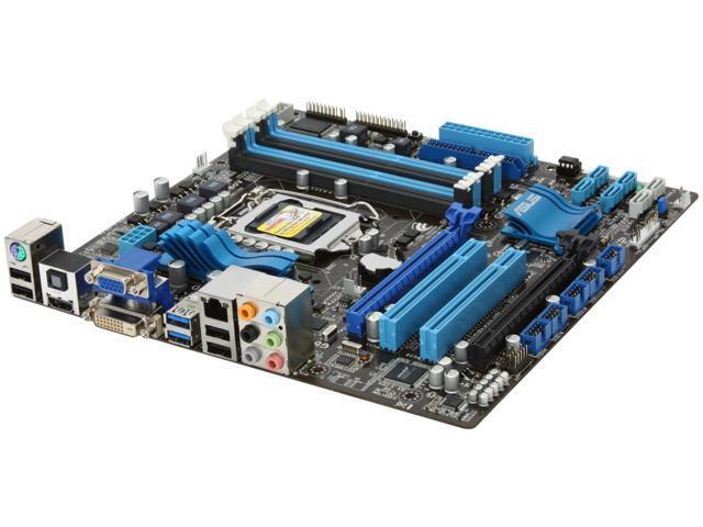 ASUS P8H67-M PRO/CSM (REV 3.0) LGA 1155 Intel H67 HDMI SATA 6Gb/s USB 3.0 Micro ATX Intel Motherboard