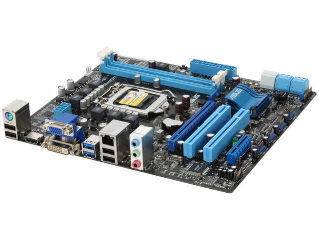ASUS P8H67-M LE (REV 3.0) LGA 1155 Intel H67 HDMI SATA 6Gb/s USB 3.0 Micro ATX Intel Motherboard