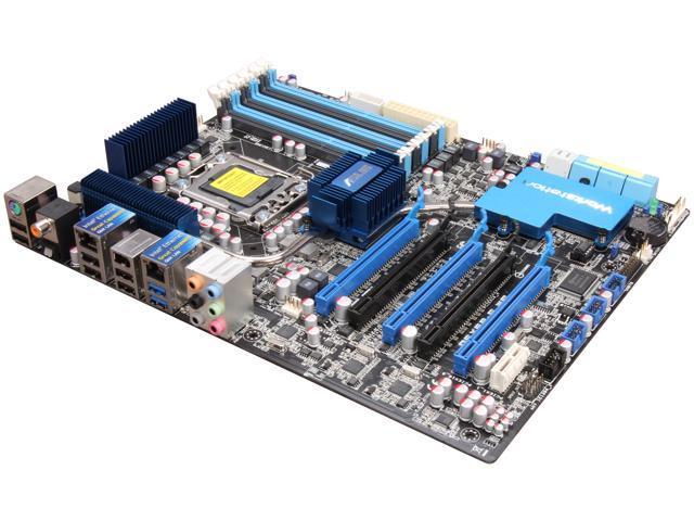 ASUS P6X58-E WS LGA 1366 Intel X58 SATA 6Gb/s USB 3.0 ATX Intel Motherboard