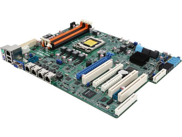 ASUS P8B-E/4L ATX Server Motherboard LGA 1155 Intel C204 DDR3 ECC UDIMM