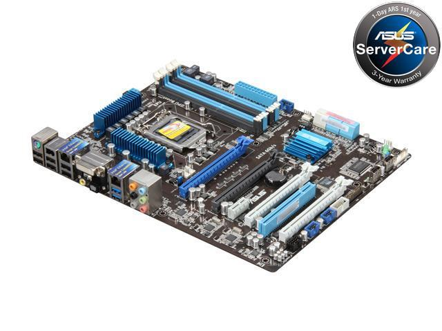 ASUS P8B WS LGA 1155 Intel C206 ATX Intel Xeon E3 Server/Workstation Motherboard