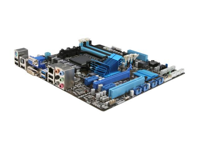 ASUS M5A88-M AM3+ AMD 880G SATA 6Gb/s USB 3.0 HDMI Micro ATX AMD Motherboard