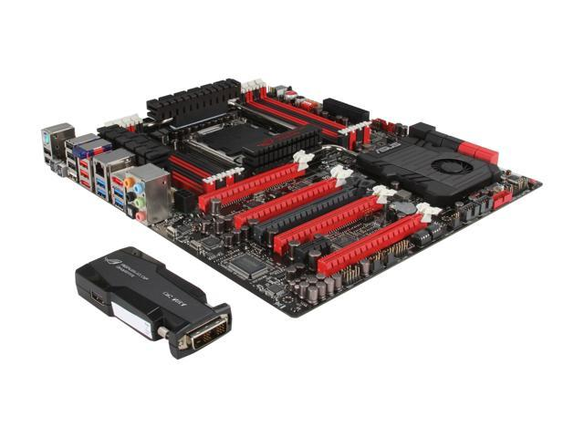 ASUS Rampage IV Extreme/BF3 Extended ATX Intel Motherboard