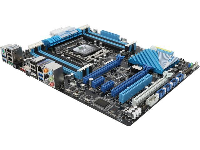 ASUS P9X79 LGA 2011 Intel X79 SATA 6Gb/s USB 3.0 ATX Intel Motherboard with UEFI BIOS