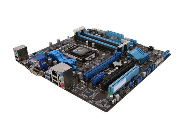 ASUS P8Z77-M LGA 1155 Intel Z77 HDMI SATA 6Gb/s USB 3.0 Micro ATX Intel Motherboard