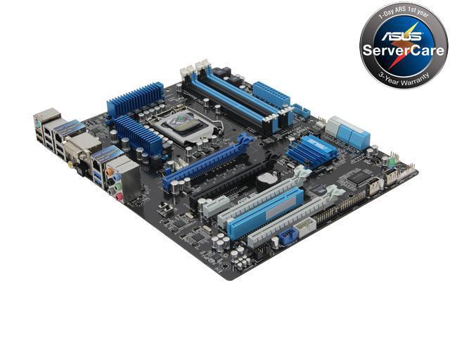 ASUS P8C WS LGA 1155 Intel C216 SATA 6Gb/s USB 3.0 ATX Intel Motherboard