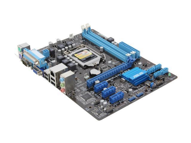 ASUS P8H61-M LX PLUS R2.0 Micro ATX Intel Motherboard with UEFI BIOS