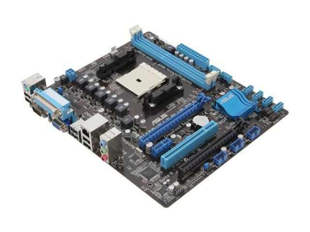 ASUS F1A55-M LX PLUS R2.0 Micro ATX AMD Motherboard with UEFI BIOS