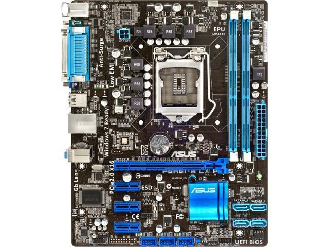 ASUS P8H61-M LX PLUS REV 3.0 Micro ATX Intel Motherboard