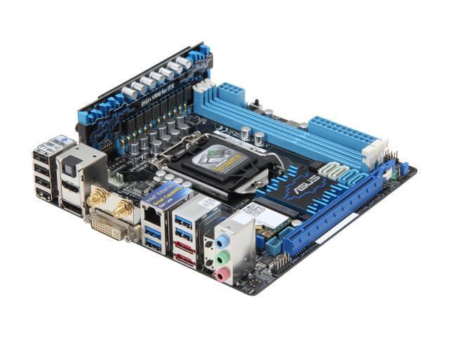 ASUS P8Z77-I DELUXE/WD LGA 1155 Intel Z77 HDMI SATA 6Gb/s USB 3.0 Mini ITX Intel Motherboard with USB BIOS