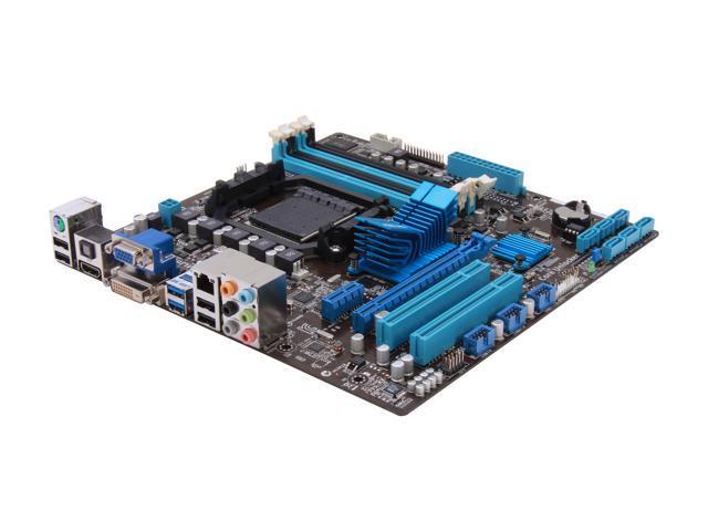 ASUS M5A78L-M/USB3 AM3+ AMD 760G + SB710 USB 3.0 HDMI uATX AMD Motherboard