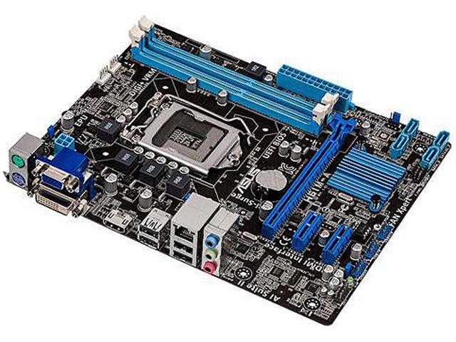 ASUS H61M-A LGA 1155 Intel H61(B3) HDMI Micro ATX Intel Motherboard