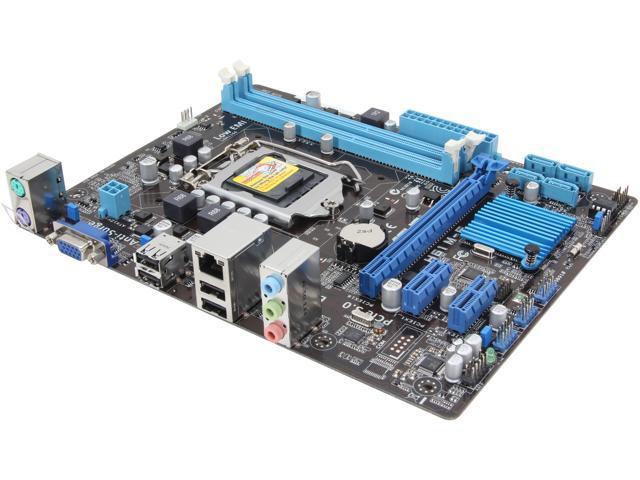 ASUS H61M-E LGA 1155 Intel H61 (B3) Micro ATX Intel Motherboard