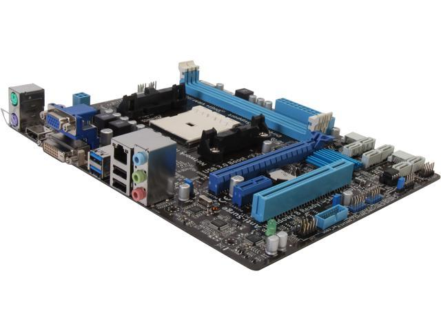 ASUS A85XM-A Micro ATX AMD Motherboard