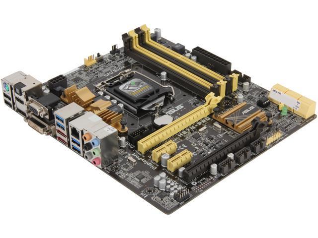 ASUS H87M-PRO uATX Intel Motherboard
