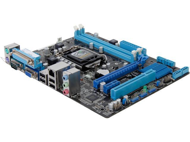 ASUS H61M-C LGA 1155 Intel H61 Micro ATX Intel Motherboard