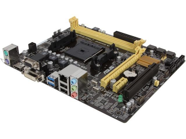 ASUS A55BM-A/USB3 FM2+ / FM2 AMD A55 (Hudson D2) USB 3.0 HDMI Micro ATX AMD Motherboard