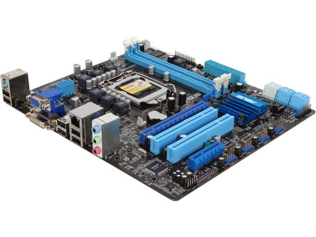 ASUS P8H67-M LX (REV 3.0) Micro ATX Intel Motherboard