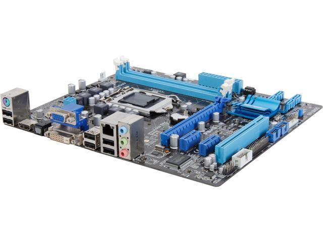 ASUS P8H61-M (REV 3.0) LGA 1155 Intel H61 HDMI Micro ATX Intel Motherboard