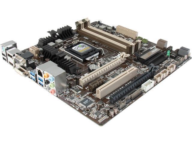 ASUS VANGUARD B85 LGA 1150 HDMI SATA 6Gb/s USB 3.0 Micro ATX Intel Motherboard