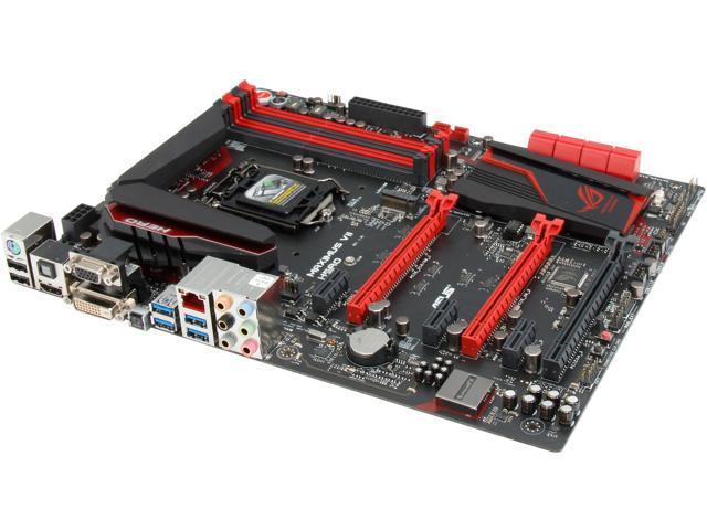 ASUS ROG MAXIMUS VII HERO LGA 1150 Intel Z97 HDMI SATA 6Gb/s USB 3.0 ATX Intel Gaming Motherboard