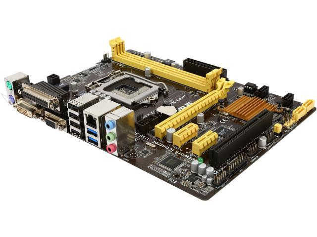 ASUS H81M-C/CSM/C/SI LGA 1150 Intel H81 SATA 6Gb/s USB 3.0 Micro ATX Intel Motherboard (Bulk Pack, must be purchased in qtys of 10)