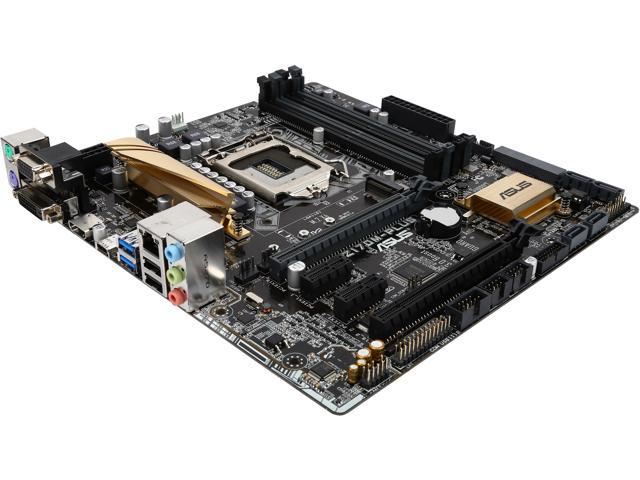 ASUS Z170M-PLUS LGA 1151 Intel Z170 HDMI SATA 6Gb/s USB 3.0 Micro ATX Intel Motherboard