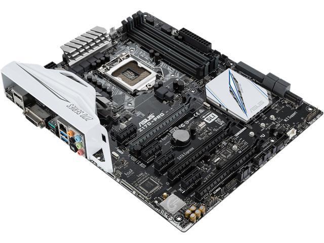 ASUS Z170-PRO LGA 1151 Intel Z170 HDMI SATA 6Gb/s USB 3.1 USB 3.0 ATX Intel Motherboard