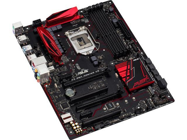 ASUS E3 PRO GAMING V5 LGA 1151 Intel C232 SATA 6Gb/s USB 3.1 USB 3.0 ATX Intel Motherboard