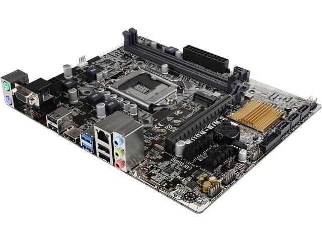 ASUS H110M-E/M.2 LGA 1151 Intel H110 HDMI SATA 6Gb/s USB 3.0 Micro ATX Motherboards - Intel