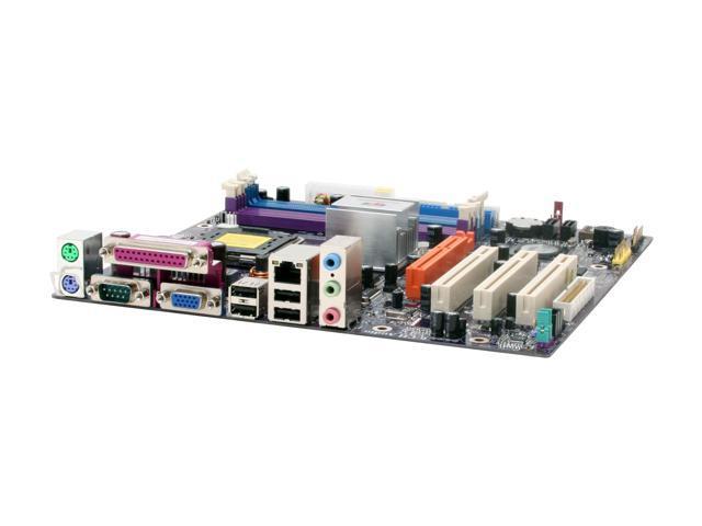ECS P4M800PRO-M (V2.0) Micro ATX Intel Motherboard
