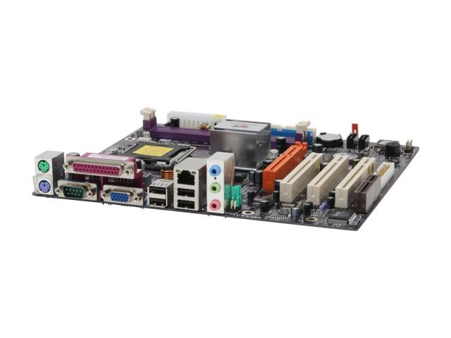 ECS P4M800PRO-M2 V2.0 LGA 775 VIA P4M800 PRO Micro ATX Intel Motherboard