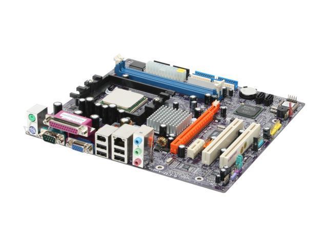 ECS C51G-M754 A 3200+ AMD Athlon 3200+ 754 NVIDIA GeForce 6100 Micro ATX Motherboard/CPU Combo