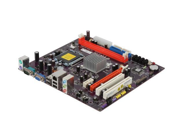 ECS GF7050VT-M LGA 775 GeForce7050 / 610i Micro ATX Intel Motherboard