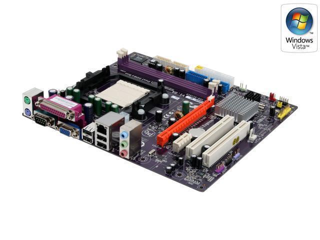 ECS GeForce6100SM-M2 (V1.0A) AM2 NVIDIA GeForce 6100 Micro ATX AMD Motherboard