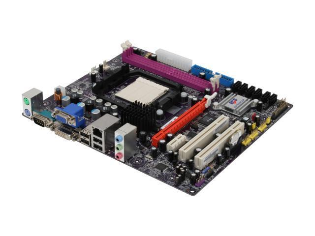 ECS A740GM-M AM2+/AM2 AMD 740G Micro ATX AMD Motherboard