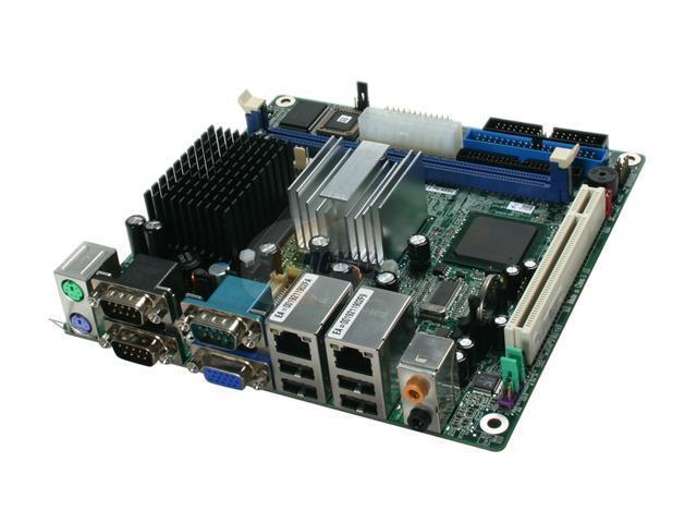 ECS PMI8M Intel Celeron M 600MHz 479 Intel 852GM Mini ITX Motherboard/CPU Combo
