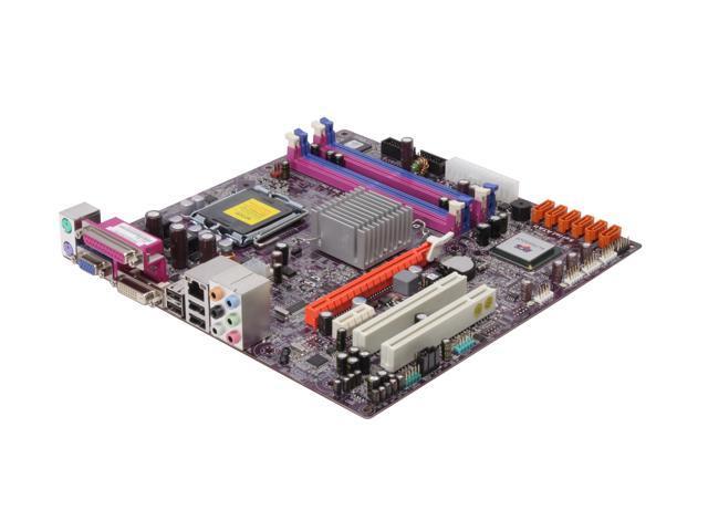 ECS G45T-M2 Micro ATX Intel Motherboard