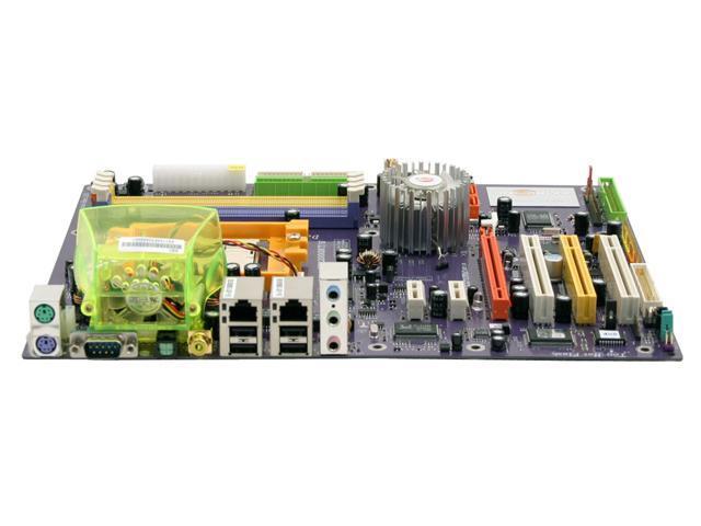 ECS KN1 Extreme 939 NVIDIA nForce4 Ultra ATX AMD Motherboard