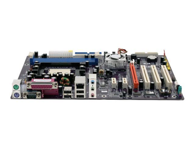 ECS NFORCE4-A754 754 NVIDIA nForce4 4X ATX AMD Motherboard