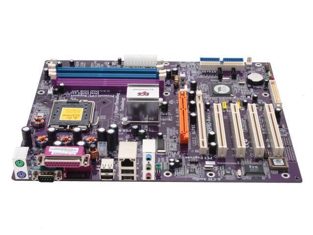 ECS PT880PRO-A (1.0A) LGA 775 VIA PT880 PRO ATX Intel Motherboard