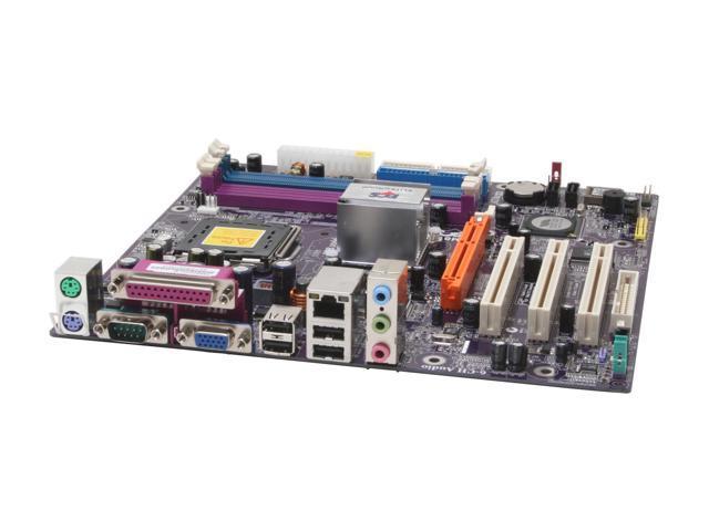 ECS P4M800PRO-M (1.0) LGA 775 VIA P4M800 PRO Micro ATX Intel Motherboard