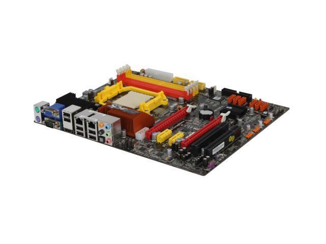 ECS Black Series A790GXM-A AM3/AM2+/AM2 AMD 790GX HDMI ATX AMD Motherboard