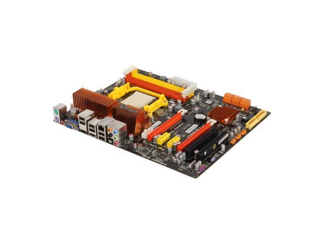 ECS BLACK SERIES A790GXM-AD3 AM3 AMD 790GX HDMI ATX AMD Motherboard