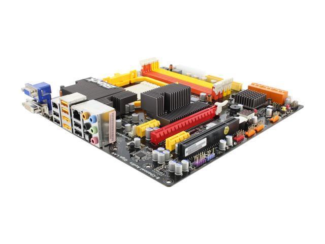 ECS Black Series A785GM-M AM3 AMD 785G HDMI Micro ATX AMD Motherboard