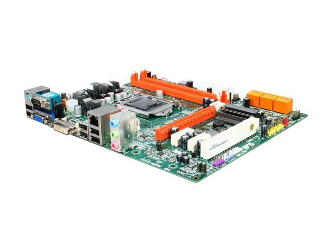 ECS H55H-M(1.0) LGA 1156 Intel H55 Micro ATX Intel Motherboard