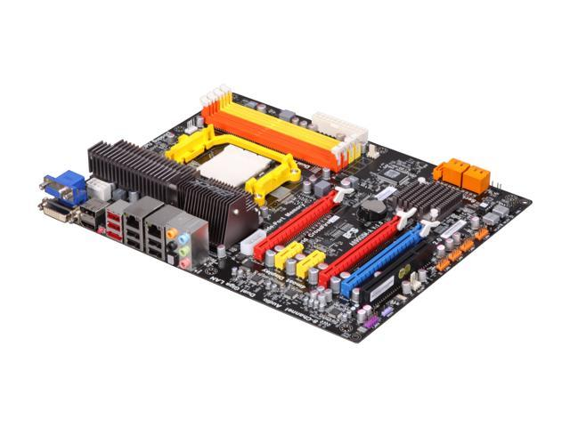 ECS Black Series A890GXM-A AM3 AMD 890GX HDMI SATA 6Gb/s ATX AMD Motherboard