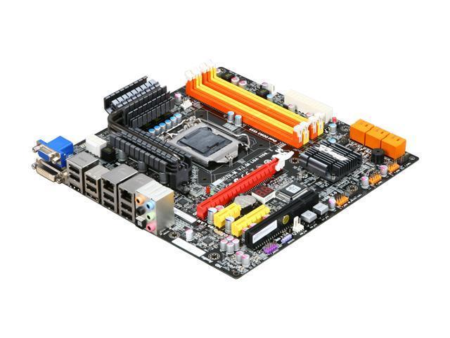 ECS H57H-M (V1.0A) Black Series LGA 1156 Intel H57 HDMI Micro ATX Intel Motherboard