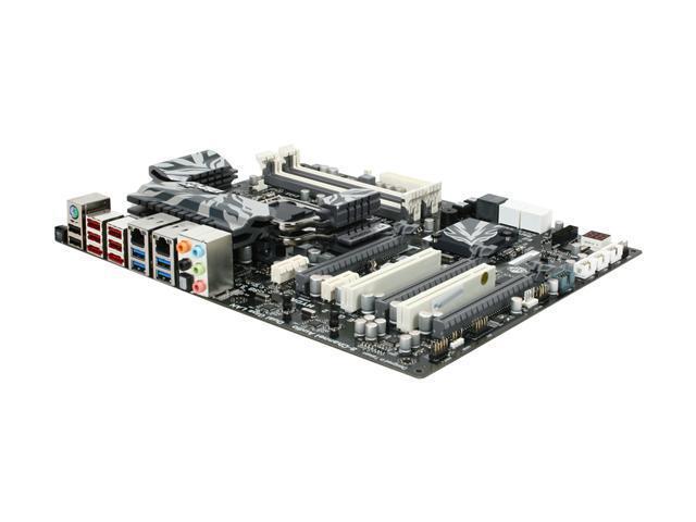 ECS Black Extreme P67H2-A Hydra LGA 1155 Intel P67 SATA 6Gb/s USB 3.0 ATX Intel Motherboard